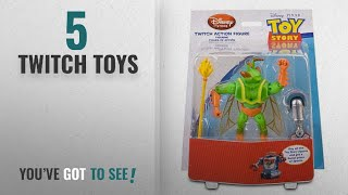 Top 10 Twitch Toys [2018]: Toy Story Twitch Action Figure with Build Sparks Part