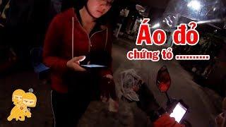 Áo đỏ đi Go Việt gặp trúng THANH NIÊN THIẾU MUỐI - Xe Ôm Vlog