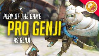 PRO GENJI! - Overwatch Gameplay (Funny Moments)