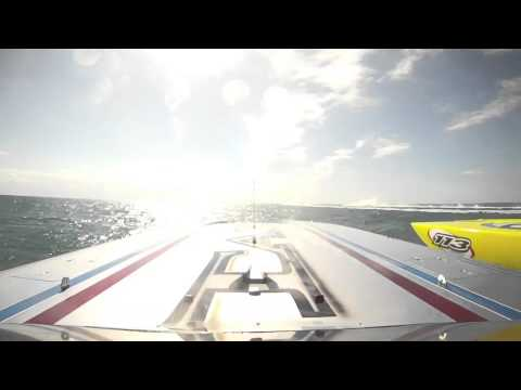 Spirit of Qatar Front cam Race 2 Key West 2012 SBI World Championship