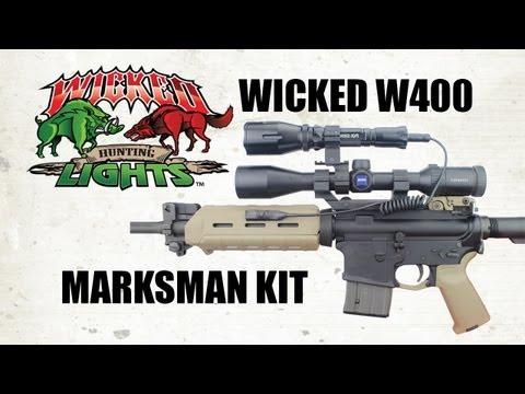 Wicked Lights Marksman W400 Hog and Predator Night Hunting Light