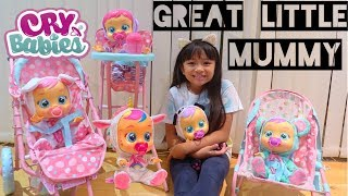 Cry Babies Great Little Mummy Exclusive Cry Babies Unicorn Doll Competition