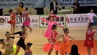 00095 2018 舞王世界公開賽 國高中組 Rumba 複賽