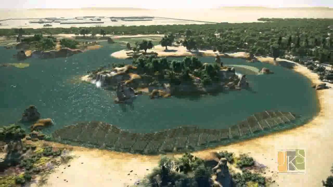 Ecopark Birdwatching Lagoon Project North Doha Sewage