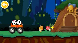 Baby Panda Car Racing Gameplay   BabyBus Kids Games #26