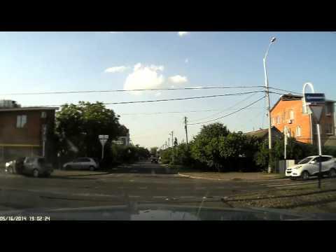 Авария Краснодар Калинина/Энгельса 16.05.2014