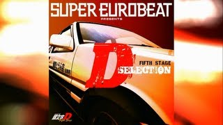 Initial D Fifth Stage D SELECTION Vol.1 / Full Original Soundtrack