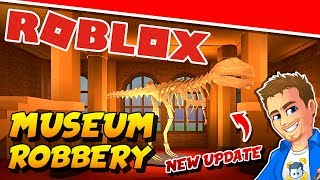 ROBLOX JAILBREAK NEW UPDATE Museum Robbery | Playing Roblox Jailbreak with Subs!