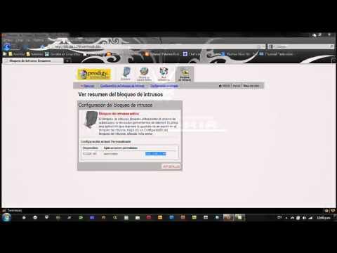 Instalar servidor local y configurar 2wire para ver mi servidor fuera