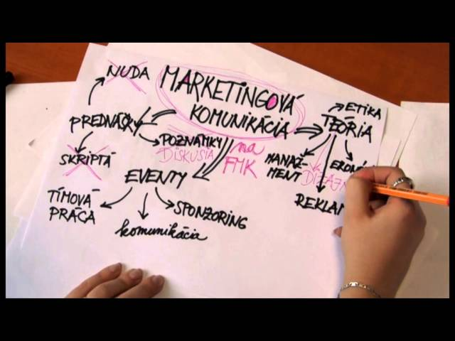Marketingová komunikácia na FMK - promo