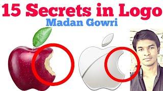 15 Secrets in Logos | Tamil | Madan Gowri | MG