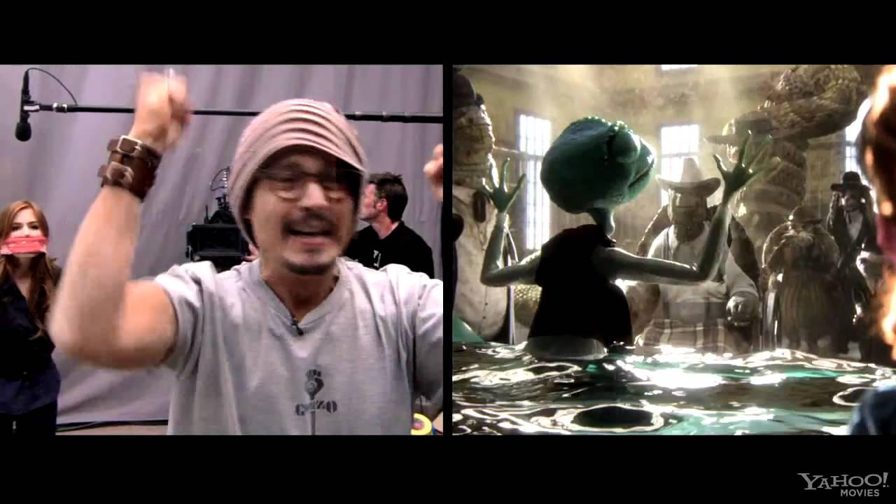 مراحل تنفيذ فيلم Rango من شركة ILM شركة الانتاج : Nickelodeon Movies 2010