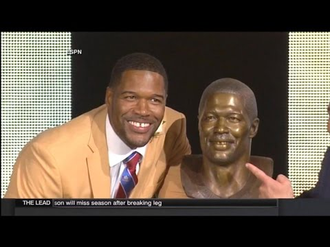 Michael Strahan on Hall of Fame Induction: 'Anything is Absolutely Possible'