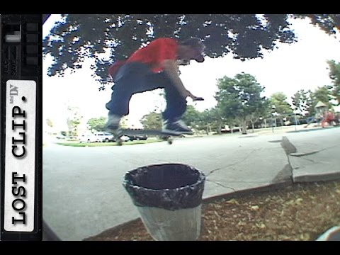 Tom Penny Lost & Found Skateboarding Clip #163