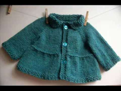 Knitting Patterns For Toddlers Vest : Baby + Toddler Tiered Coat and Jacket - Knitting Pattern Presentation - YouTube