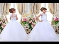 اجمل فساتين زفاف للاطفال باللون الابيض كلها رقة ونعومة 🌸 wedding dresses for kids