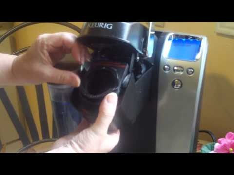 How to Insert My K-Cup Filter into Keurig Coffeemaker