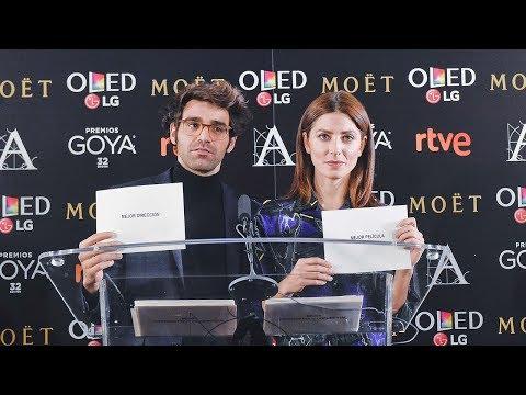 Lectura de nominaciones #Goya2018