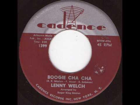 Lenny Welch - Boogie Cha Cha.wmv video