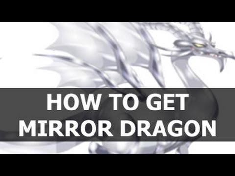 How To Get MIRROR DRAGON in Dragon City by Breedding Cool Fire and Gummy