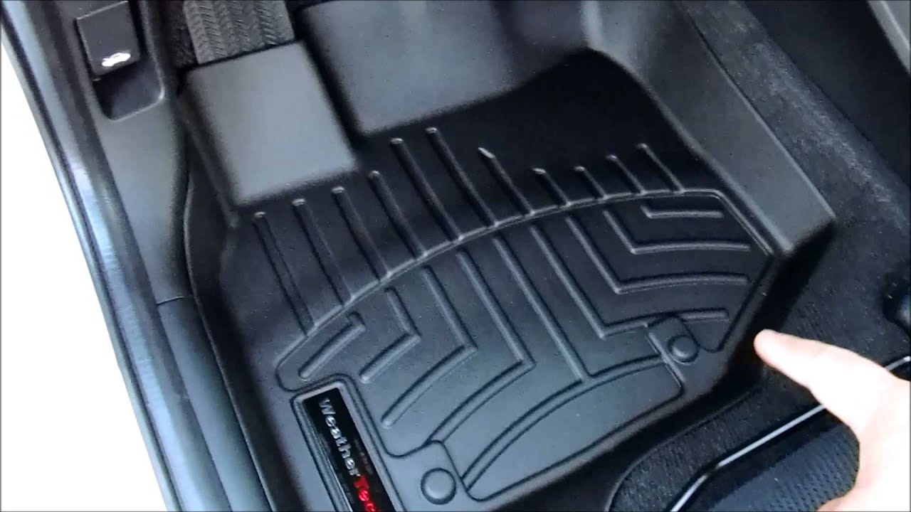 Weathertech Digifit Floor Liner Honda Fit Youtube