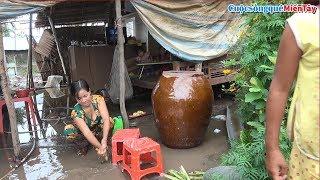 Video quay lại ngôi nhà Anh Bảo, Chị Thủy nhà được Cô Huỳnh Sở Vân hỗ trợ gia đình cất lại mới