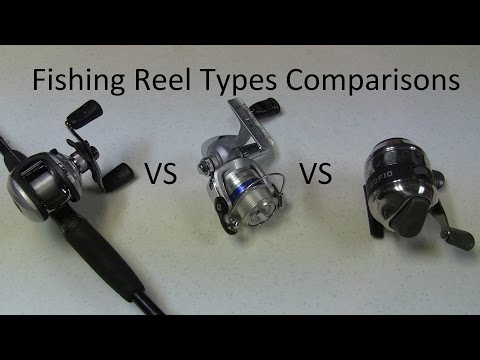 Best Fishing Reel Type - Spinning Vs Baitcasting Vs Spincaster Reels- Best Reel with Pros and Cons