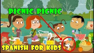 Spanish For Kids: Language (PICNIC) - Games For Childrens