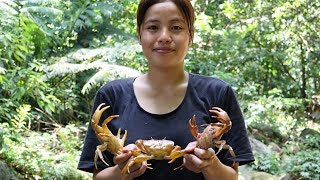 Diary jungle ✦ EP 12 ✦ Catch the yellow crab with 3 girls