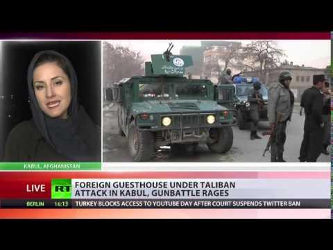 Breaking: Taliban attack Kabul guesthouse with blast, gunmen