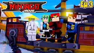 Minecraft LEGO NINJAGO - THE NINJAGO'S HAVE A NEW BASE BUT COLE IS IN DANGER!!