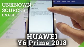 How to Enable App Installation in HUAWEI Y6 Prime 2018 - Allow Unknown Sources