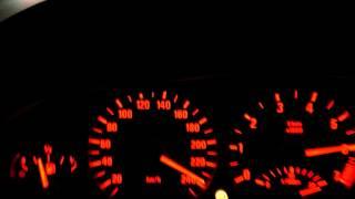 BMW E46 330i 0-250 Km/h