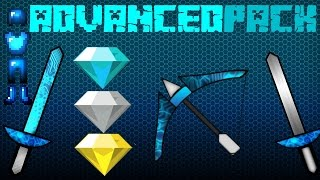 ★ Minecraft PvP Texture Pack AdvancedPack!! ★