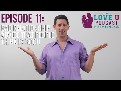 Relationship advice evan katz