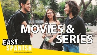 MOVIES & SERIES for Spanish learners | Easy Spanish 90
