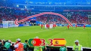ESTA VEZ NO ME ROBAN   PORTUGAL 3-3 ESPAÑA