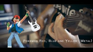Pokemon Red, Blue and Yellow (Metal)