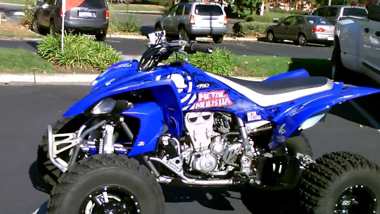 Honda Four Wheelers For Sale >> Contra Costa Powersports-Used 2007 Yamaha YFZ-450 Sport Quad 4 wheeler ATV motorcycle - YouTube