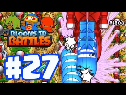 MONKEY VILLAGE ONLY ALL MAX LEVEL MONEY VILLAGES | Bloons TD Battles Gameplay Part 27 (BTD Battles)
