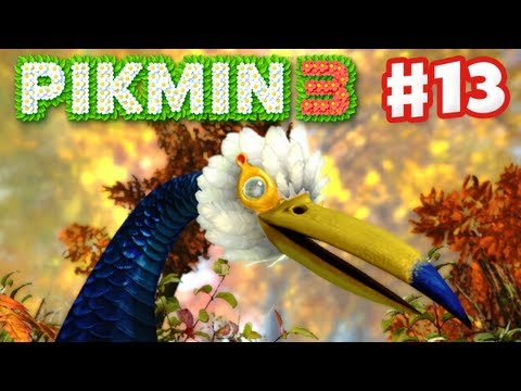 Pikmin 3 - Day 13 - Burrowing Snagret (Nintendo Wii U Gameplay Walkthrough)