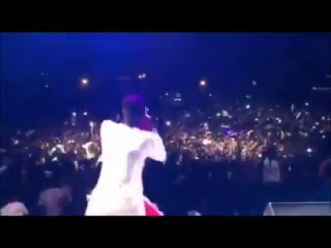 "Shatta Wale's Electrifying Performance at Koforidua ""Ghetto Party"""