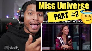 Miss Universe Catriona Gray on GOOD DAY NEW YORK | REACTION PART 2