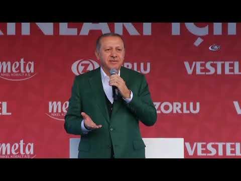 Cumhurbaşkanı Erdoğan: ''5 Babayiğitten Biri Zorlu''