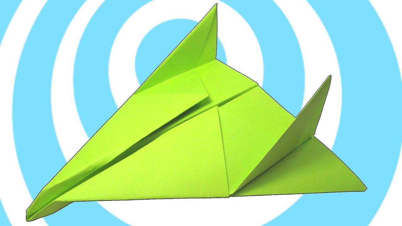 Как сделать оригами из бумаги самолёты летающие