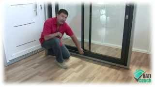 Porte interieure a galandage vitree repair