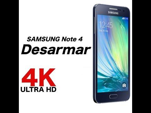 Samsung Note 4 Desmontar