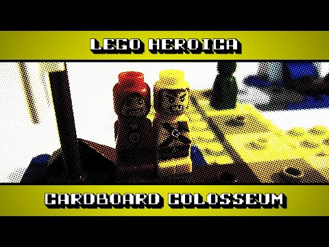 Lego Heroica - A Board Game Review