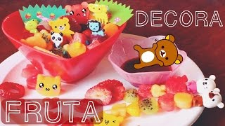 POSTRE DE FRUTAS KAWAII - Idea 14 FEB 2016 ♥