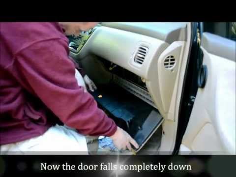 Honda Odyssey Cabin Air Filter Change:  How To Video